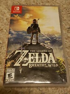 Legend of Zelda: Breath of the Wild (Switch, Complete, & Tested)