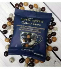 1 PACKAGE OF TRADER JOE'S CHOCOLATE COVERED ESPRESSO COFFEE BEANS!