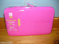 """Tucano Colore Second Skin sleeve for 10"""" tablet  - Universal fit - Fuschia - NEW"""