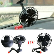 Portable Car Truck Fan Vehicle Auto Cooling Cooler Device W/Cigarette Lighter