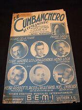 Partition The cumbanchero Warner Leca Rico's Creole Music Sheet