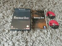 RESIDENT EVIL - 2 Discs - Nintendo Gamecube - UK Pal Boxed Game & Book