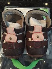 STRIDE RITE Crib & Crawl shoes Sandals Cath of the day Size 2  3-6 months NIP