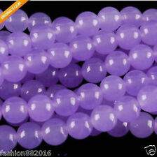 8mm Purple Alexandrite Round Gemstone Loose Beads 15