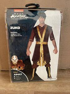 Avatar The Last Airbender Zuko Cosplay Costume Full Set Adult Large Halloween