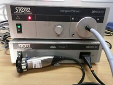 Storz Scb Image 1 With S3 Camera Head And Halogen Light Source And Cable