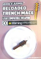 BrickArms RELOADED TRENCH MACE for Custom  Minifigures NEW WW1 Exclusive Weapon