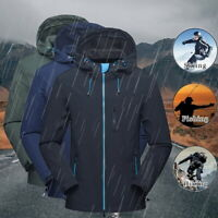UK Waterproof Windproof Jacket Men Women Lightweight Coat Outdoor Windbreaker