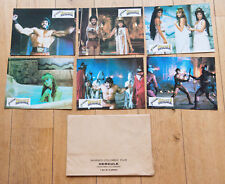 6 PHOTOS D'EXPLOITATION cinéma : HERCULE - LUIGI COZZI - LOU FERRIGNO