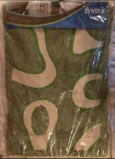 Green Patterned Bathmat - 60 x 40 cm