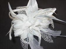 Accessoires de coiffure bandeaux en plumes pour la mariée