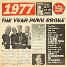 1977 The Year Punk Broke  - (CD Album)  - New & Sealed