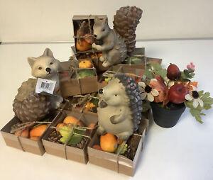 Konvolut 20 Artikel  Herbstdeko Herbst Deko Früchte Künstlich + Figuren R6/5