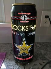 Rockstar energy drink motion moving color changing can light up sign new w/o box