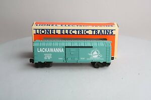 Lionel 6-52082  Steamtown Lackawanna Boxcar 1995 Grand Opening new in the box