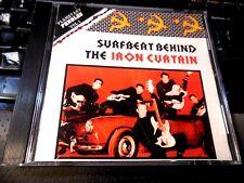 Surfbeat Behind the Iron Curtain Vol 1 CD Boomerangs Eliminators Mefisto Sincron