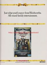 Addams Family Values Woolworths 1995 Magazine Advert #7610