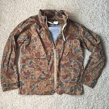 J CREW WOMENS LIGHT WEIGHT JACKET CAMO SIZE 6 WIND BREAKER