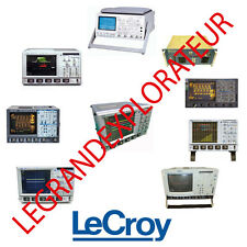 Ultimate  Lecroy  Operation Repair Service manual & Schematics Collection on DVD