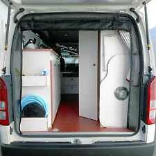 insect fly screen for Campervan Toyota Hiace tailgate door - easy installation