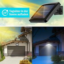 Solarleuchte 56LED Solarlampe Bewegungsmelder Gartenlampe Fluter Außenleuchte XL