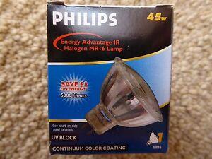 3 Philips 815410 45MRC Beam 36 MR16 45W 12V GU 5.3 Halogen Light Bulbs