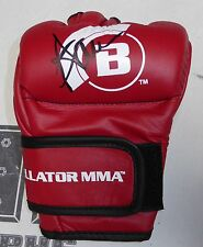 Anastasia Yankova Signed Official Red Bellator MMA Fight Glove PSA/DNA Autograph