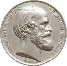 Fsm. Lippe, Zinnmedaille 1875, v. Brehmer, auf E. v. Bandel, Hermannsdenkmal