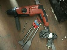 Hilti Te 2 Rotary Hammer Drill With 4 Bits