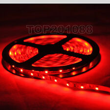 5M 3528 Red 300Leds SMD Flexible Lamp Light Led Strip DC 12V Home Decor