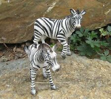 "Original Bullyland Zebras 2 tlg. Zebra Figuren ""Hohe Qualität"" 9007"