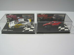 Minichamps 1/64  scale   (  2 Car  LOT  )  Ferrari & Opel