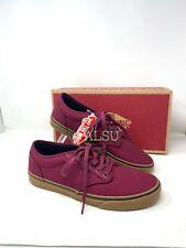VANS Atwood 12oz Canvas Cordovan Maroon Men's Sneakers VN000XB0EO9