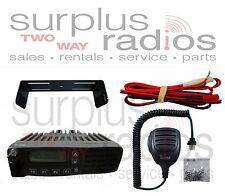 Icom F6121D UHF Mobile Radio 400-470mhz 45W 128CH IDAS Digital Police Refurb