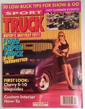 Sport Truck Magazine Vtg Nov 1991 RARE VHTF Super Special Order Cameo Roles CA