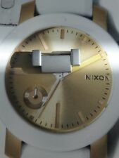 Nixon The Manual II Matt Silver EXTRA WATCH LINK