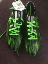 ADIDAS-MENS SIZE 9.5 F10 FG-GREEN-FOOTBALL BOOTS-NEW AND BOXED