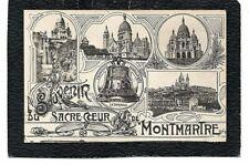cpa PARIS 18e - Souvenir du Sacré-Coeur de Montmartre