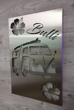 VW Bulli T1 Edelstahl Bild Metalldesign