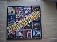 VARIOUS ARTISTS - UNFORGETTABLE - 2X VINYL LP - TROGGS PJ PROBY FOURMOST ETC.
