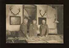Germany WW1 Im Grossen Hauptquartier Januar 1917 Hindenbur Bismark Ludendorf PPC
