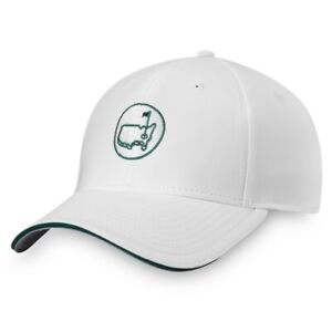 2021 Masters Golf Performance Hat White Augusta National Logo New
