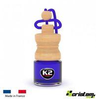 K2 Caro Ocean HOME AIR FRESHENER FRAGRANCE PERFUME HANGING GLASS BOTTLE 4ml