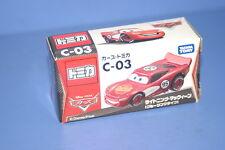 DISNEY Cars D-03 RED Metallic Lightning McQueen TOMICA Japan