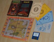 ~ Ultima III 3: Exodus ~ Commodore Amiga/boîte d'origine ~ Big Processeur en Boîte ~ English