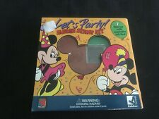 Disney Mickey Mouse Let'S Party Fm Rubber Stamp Kit Set Lot of 7 Mickey Friends