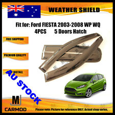 Weather Shield WeatherShield fitfor Ford FIESTA 2003-2008 WP WQ 5 DOOR HATCH 4pc