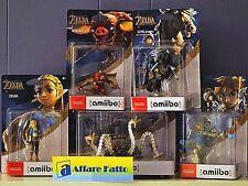Breath of the Wild - Legend of Zelda Amiibo Figures Bundle Set of 5 - Nintendo
