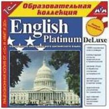 ENGLISH PLATINUM DeLuxe CD (Windows /NT/XР/10) - Self-taught American English