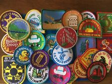 25 - VINTAGE  GIRL SCOUT PATCHES - SEE PHOTOS